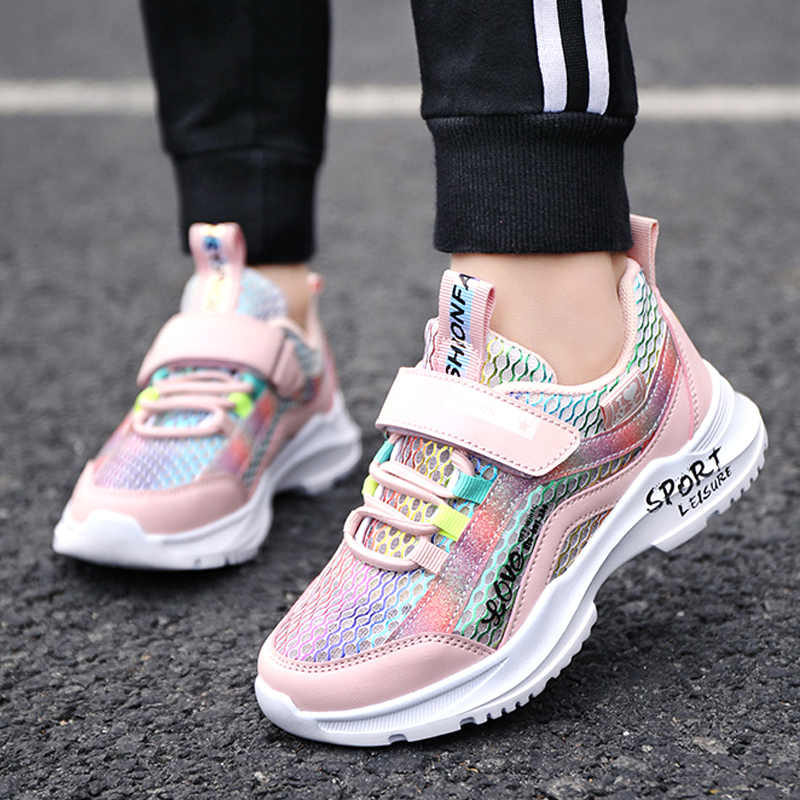 2020 Autumn Shoes children sneakers Girls Kids Sport Shoes For Girls  Shining Fashion Casual Child Shoes Girl chaussure enfant|Sneakers| -  AliExpress