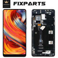 100% Test Good Work 5.99 LCD Mi Mix 2 Replacement XIAOMI Mi MIX MIX2 Touch Screen Digitizer with Frame Assembly Free Shipping