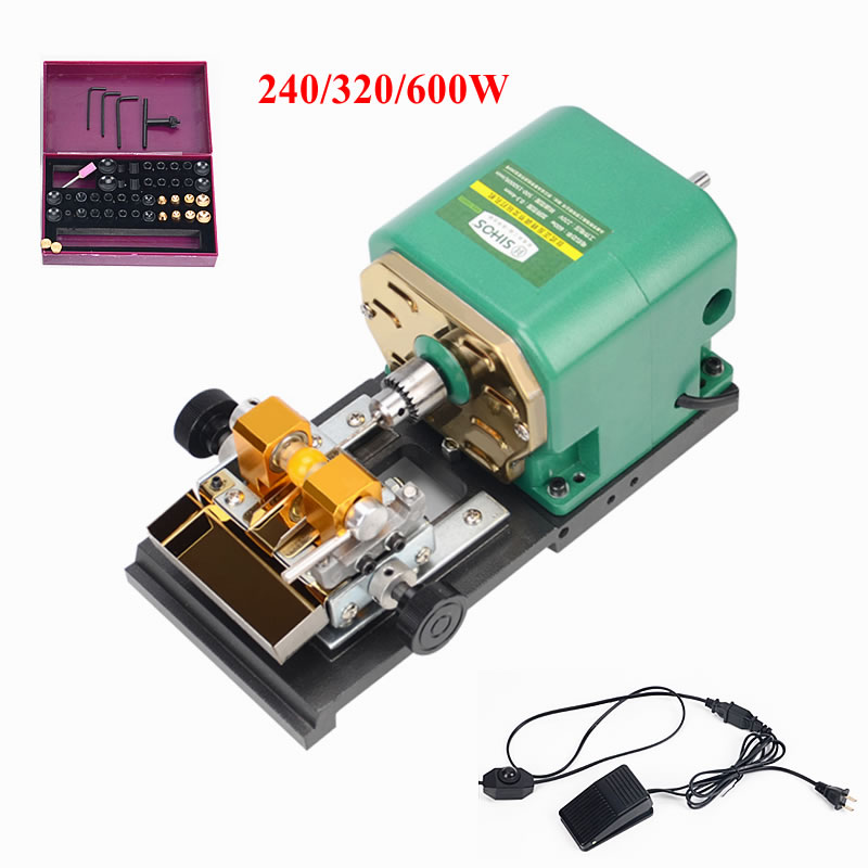 Pearl Drilling Holing Machine 240W 320W 600W Driller Jewelry Drill Tool Punch Engraving Machine Tool Equipment Set