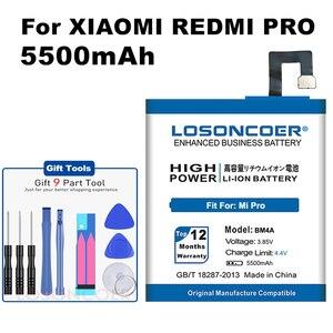 """5550mAh BM3A BM3B BM3C BM3L BM4A Battery For Xiaomi Redmi Pro Battery MI7 Mi 7 Mix 2 2S II 5.99"""" MIX2 MIX2S Note 3 9 MI9 M9 MI 9(China)"""