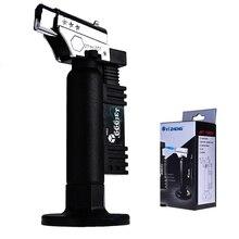 블랙 치과 악기 부탄 가스 마이크로 토치 버너 용접 납땜 총 라이터 불꽃 용접기 windproof