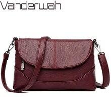 Bolso de lujo cruzado de cuero para mujer, bolsas de mensajero de hombro, de diseñador, de alta calidad