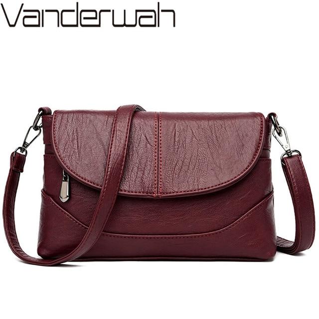 Luxury Handbags Leather Crossbody Bags For Women Shoulder Messenger Bags Designer Purses and Handbags Sac A Main High Quality