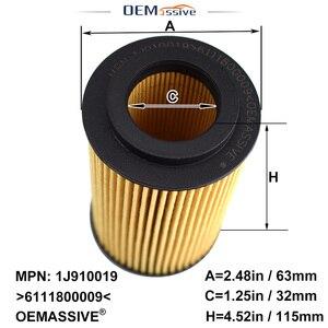 Image 3 - Lot de 5, filtre à huile 6111800009 pour Jeep mercedes benz W204 CL203 S204 C209 W211 S211 W163 W639 Sprinter 5 t Box / Bus (906)