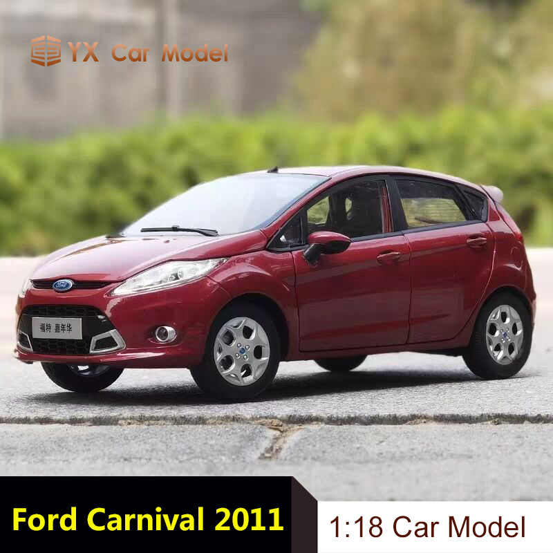 1//18 Ford FIESTA 2011 diecast car model Toys Boy Girl Gifts Red