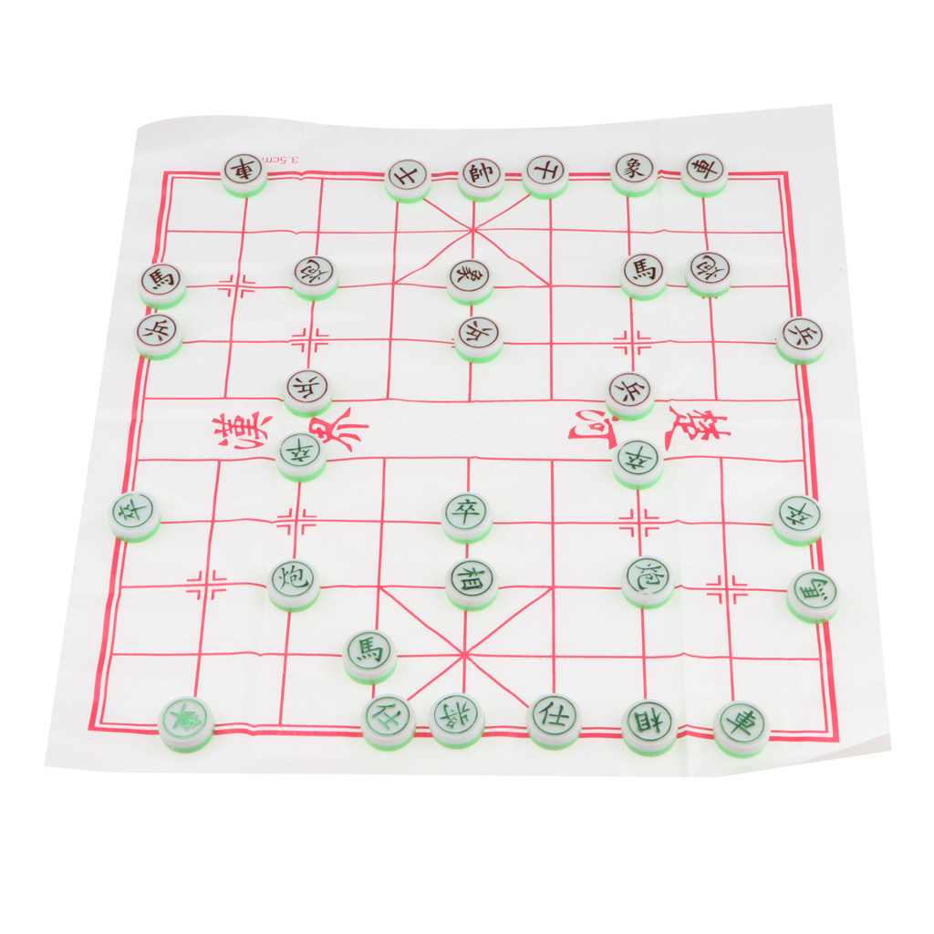 Chinese Chess-Xiangqi Children Chess Puzzle Game Playset Home Leisure And Entertainment Board Game