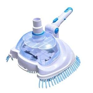 Вакуумная насадка для бассейна щетка для очистки подводного очистителя всасывания сточных вод машина для бассейна инструменты для очистки...