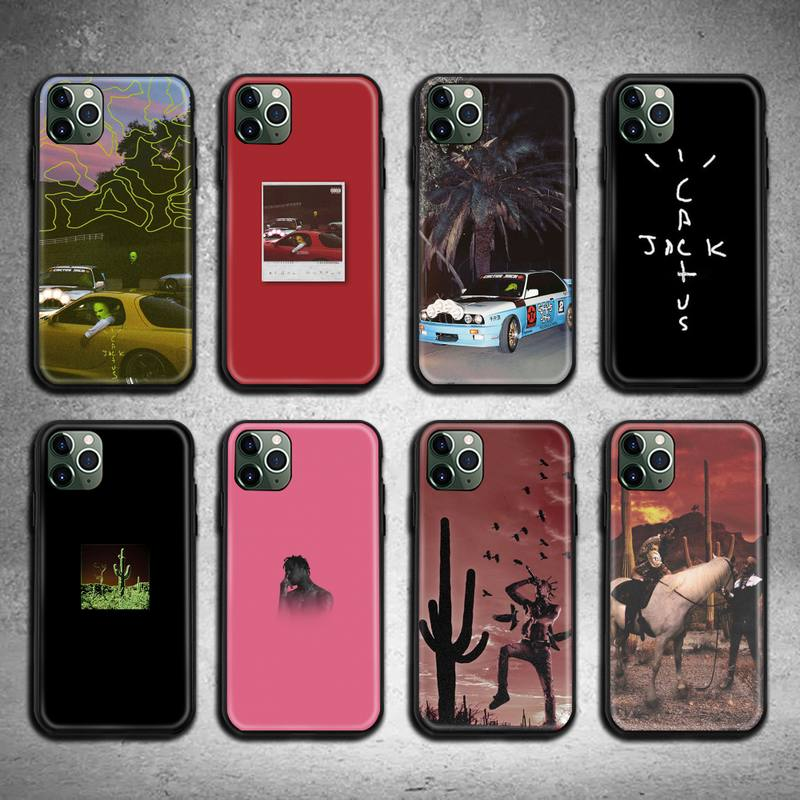 Jackboys Travis Scott Phone Case for iphone 12 pro max 11 pro XS MAX 8 7 6 6S Plus X 5S SE 2020 XR case