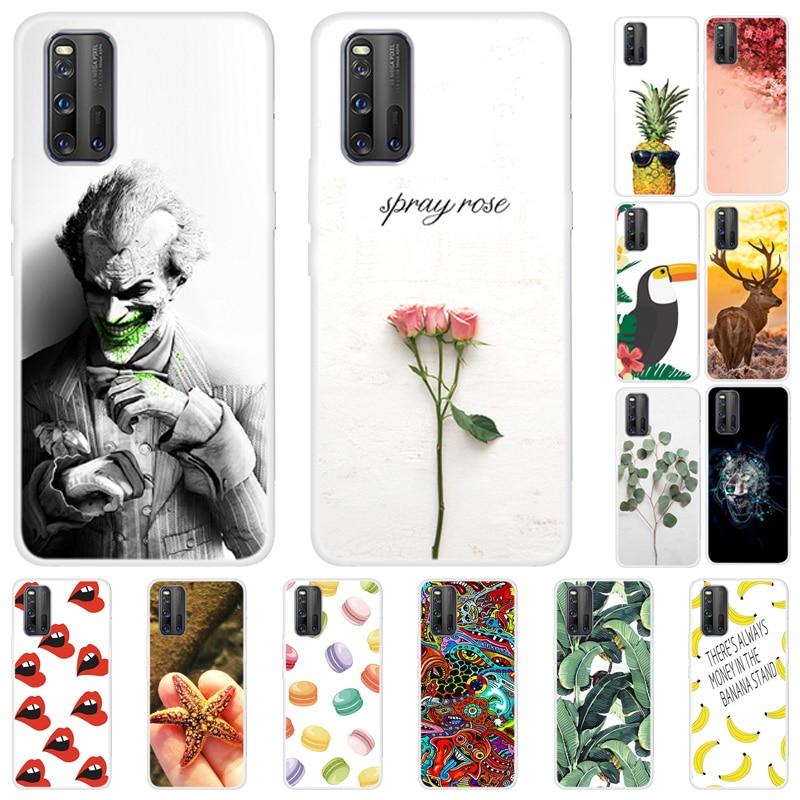 For Vivo Iqoo 3 5G Case Silicone Soft TPU Phone Cover For Vivo IQOO Neo Cases Cover For Vivo Iqoo3 Back Cartoon Fundas Housing
