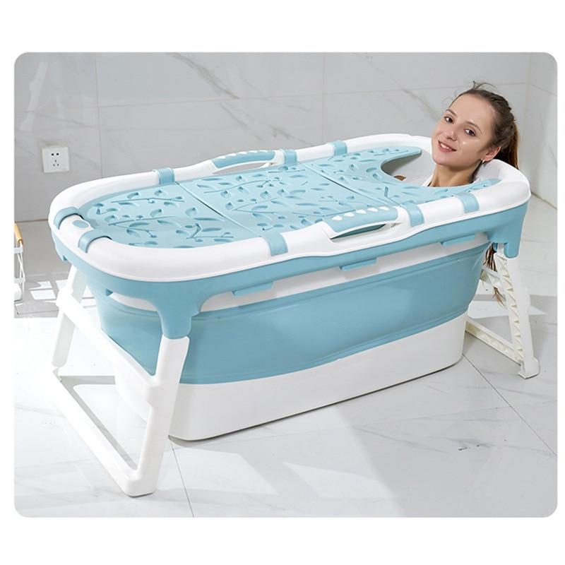 Baby Folding Bathtub Children's Multifunctional Bathtub Large Household Adult Bathtub Children's Tub Baby Shower Tub