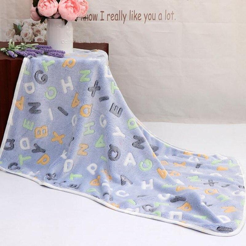 Одеяло для новорожденных, хлопковое зимнее детское Пеленальное Одеяло 73*100 см, мягкое зимнее одеяло для новорожденных - Цвет: Color 1