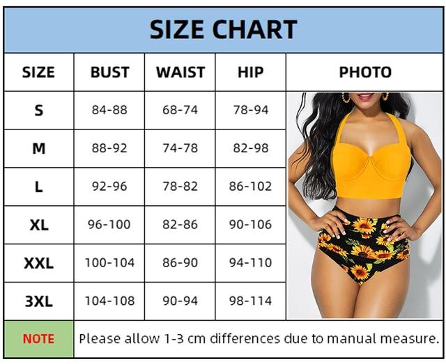 Sunflower Plus Size Bikini Set 10