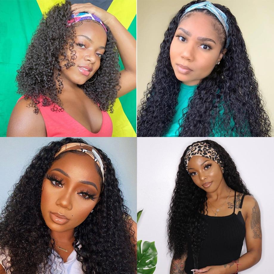 Beaudiva Deep Wave Wig  Highlight P4/27 Color Wig  Natural  Wig  Hair  Headband Wig 6