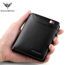 Men wallets  Genuine Leather Wallets Men Short Wallet Business Brand Leather Card Holder Money Cash Wallet Purses Pockets luxury все цены