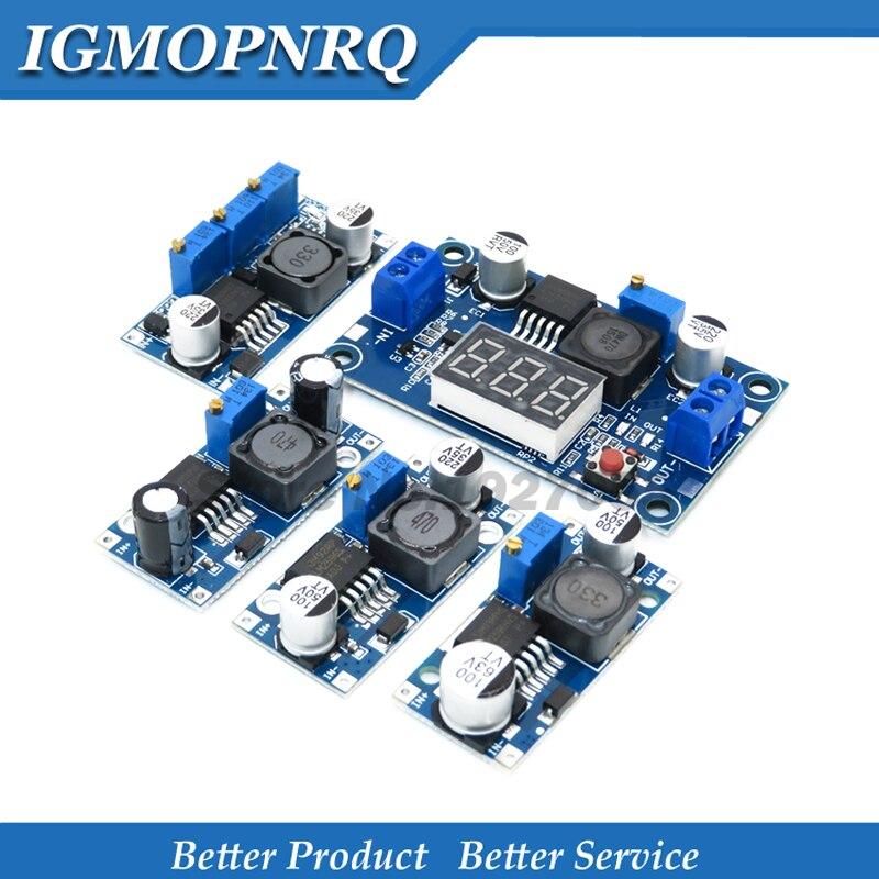 LM2596 LM2596HVS  Supply Module DC-DC BUCK 3A Adjustable Buck Module Regulator Ultra LM2596S Step Down 24V Switch 12V 5V 3V
