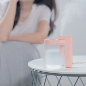 Image 5 - Xiaomi Mijia Tabletop Humidifier Ultrasound Mute USB Charge 260ML Transparent Tank Air Purifier Water Nebulizer For Home Office