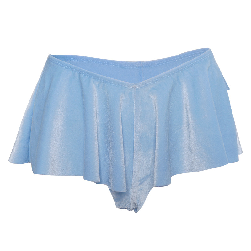 Exotic Sexy Low Waist Shorts Skirts Women Party Club Pole Dance Wear Summer Beach Vacation Wear Bodycon Shorts Mujer 5