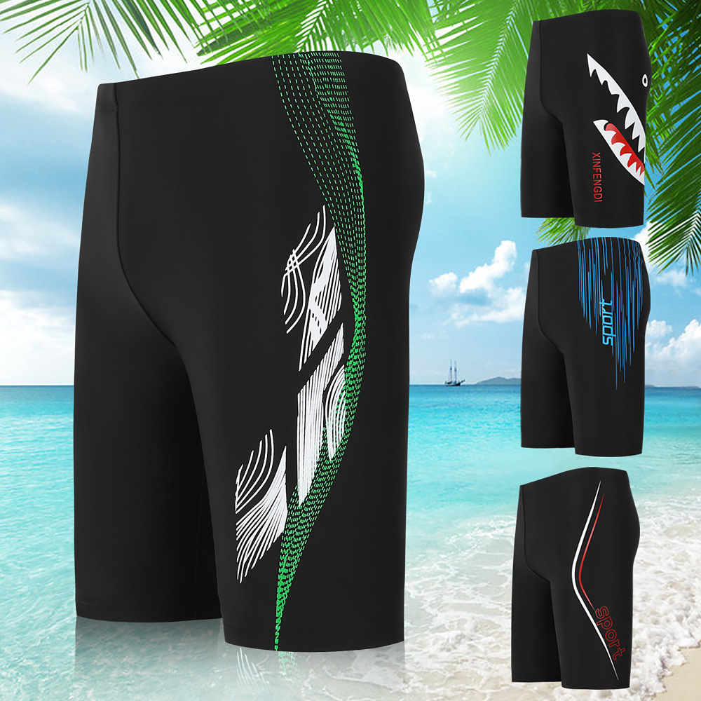 Factory Men Short Swimming Trunks Boxers Men Hot Springs Beach Shorts Variety Colour Printing Large Size Swimming Trunks Men's