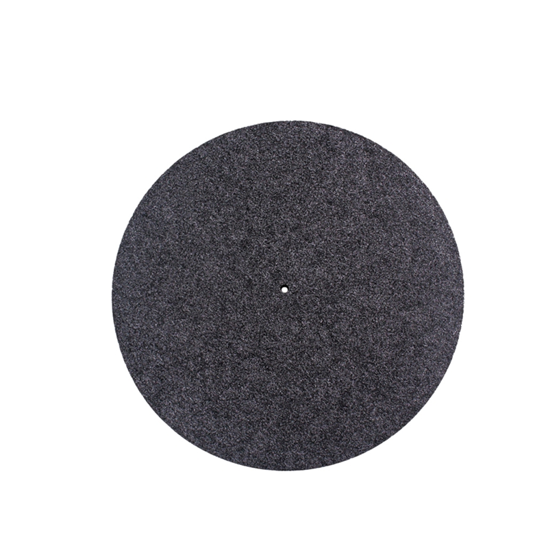 Phonograph Wool Mat Turntable Platter Mat Slip Mat 300mmThick For LP Vinyl Record