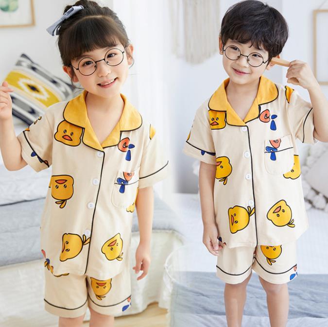 bebe meninos meninas sleepwear macio moda criancas roupas de verao conjuntos pijamas topos shorts 2 pcs