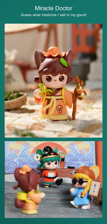 Rolife Blind Box Figure Surprise Dolls - HANHAN NAI Martial Arts Fairy