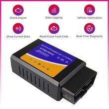Bluetooth Wifi Android IOS iPhone V1.5 OBD2 ELM327 Scanner diagnostico OBDII lettore di codice Scan OBDII per BMW VW Kia Fiat Opel