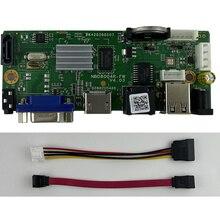 9ch * 5mp h.264/h.265 rede gravador de vídeo digital nvr onvif p2p nuvem cms xmeye suporte 1 sata max 8t rtsp