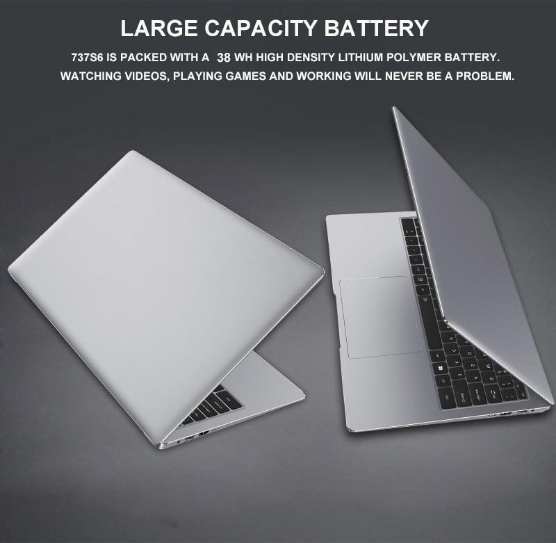15.6 polegada com max 8g 16g ram512g ssd 1 tb 2 hdd capa de metal