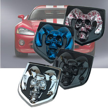 3D Car Head Grill Tailgate Ram Head Car Sticker Metal Emblem Refitting Metal Chrome Badge Emblem For Dodge Ram 1500 2500 3500 takpart for 2009 2012 dodge ram 1500 2500 3500 quad