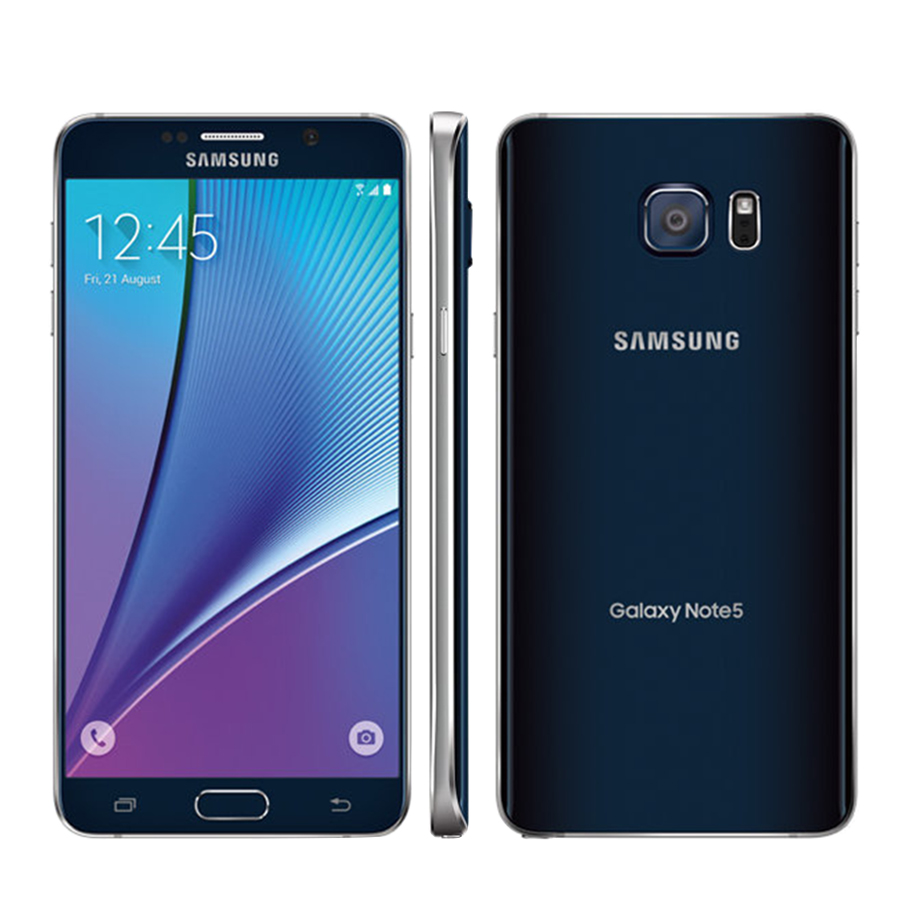 Brand New Original Samsung Galaxy Note 5 Note5 N920A Mobile Phone AT&T Version 5.7