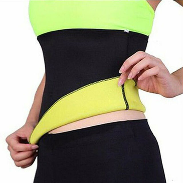 Women Waist Trimmer Sweat Belt Neoprene Exercise Wrap Slim Burn Fat Weight Loss Shaper S-XXXL 3