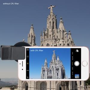 Image 4 - Lente de teléfono móvil CPL 37MM Filtro de lente profesional lente para cámara de teléfono móvil Filtro de cierre ND2 400 para Smartphone Pad ordenador