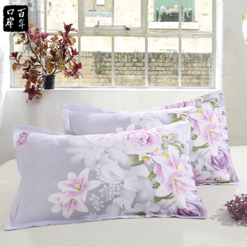 Funda de almohada de doble cara, funda de almohada de algodón con...