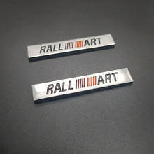 цена на 3D Metal Car Logo Sticker Emblem Badge Decal For Mitsubishi ralliart Lancer 9 10 Asx Outlander 3 Pajero Sport L200 Car Styling