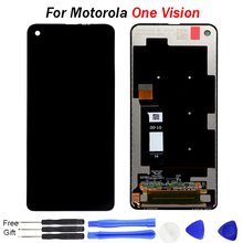 One Vision Display For Motorola Moto One Vision LCD Display Touch Screen Sensor Panel Digiziter Assembly New For Moto P50 LCD все цены