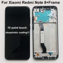 """Original 10Touch New For 6.3"""" Xiaomi Redmi Note 8 LCD Display Screen+Touch Screen Digitizer Assembly With Frame For Redmi Note 8"""