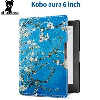 цена Case for Kobo aura 6 inch 2013 e-Reader Cover Case for Kobo Aura 6