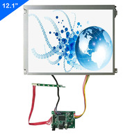 12.1inch 800*600 lcd screen with Control board HDMI input DIY Extend for Industrial monitor display