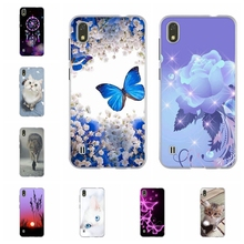 For ZTE Blade A530 Phone Case Soft TPU Silicone Cover Butterflies Patterned Bumper Funda