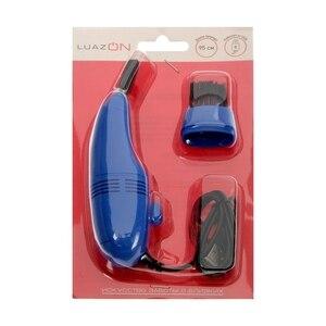 USB Пылесос LuazON для ПК, с насадками, USB