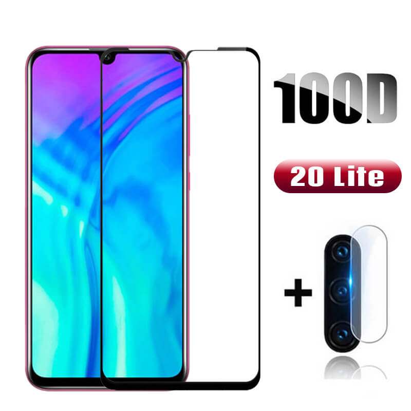 Original Protective Glass For Huawei Honor 20 Lite Camera Glass Protector On Honor 20 Light 2020 Honer 20lite 10 Lite Front Film