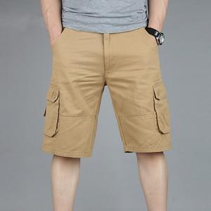 Image 2 - البضائع السراويل الرجال الصيف عادية موليت جيب السراويل 2020 الرجال الركض السراويل السراويل الرجال تنفس كبير طويل القامة 42 44 46 حجم كبير