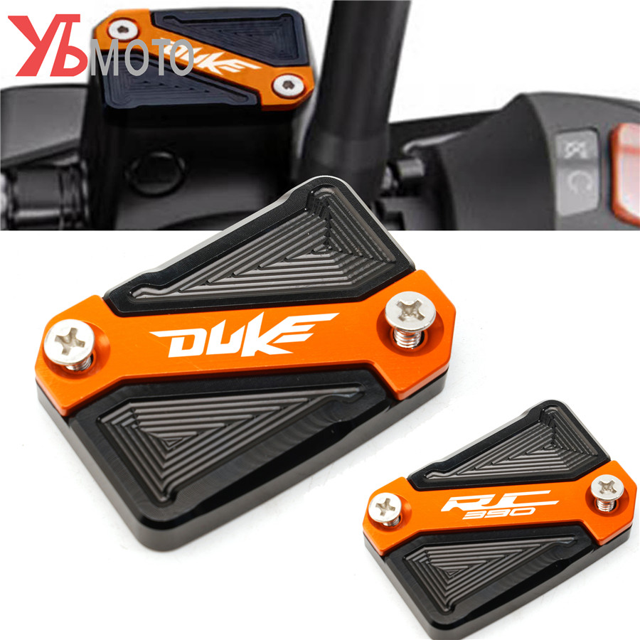 Fluid Reservoir Cover Cap For KTM Duke390 DUKE 125 200 390 Duke <font><b>250</b></font> <font><b>2013</b></font> up RC390 all year 390 Adventure 2020 image