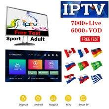 IPTV xxx channels TV Box Europe Sweden Arabic French Italy U