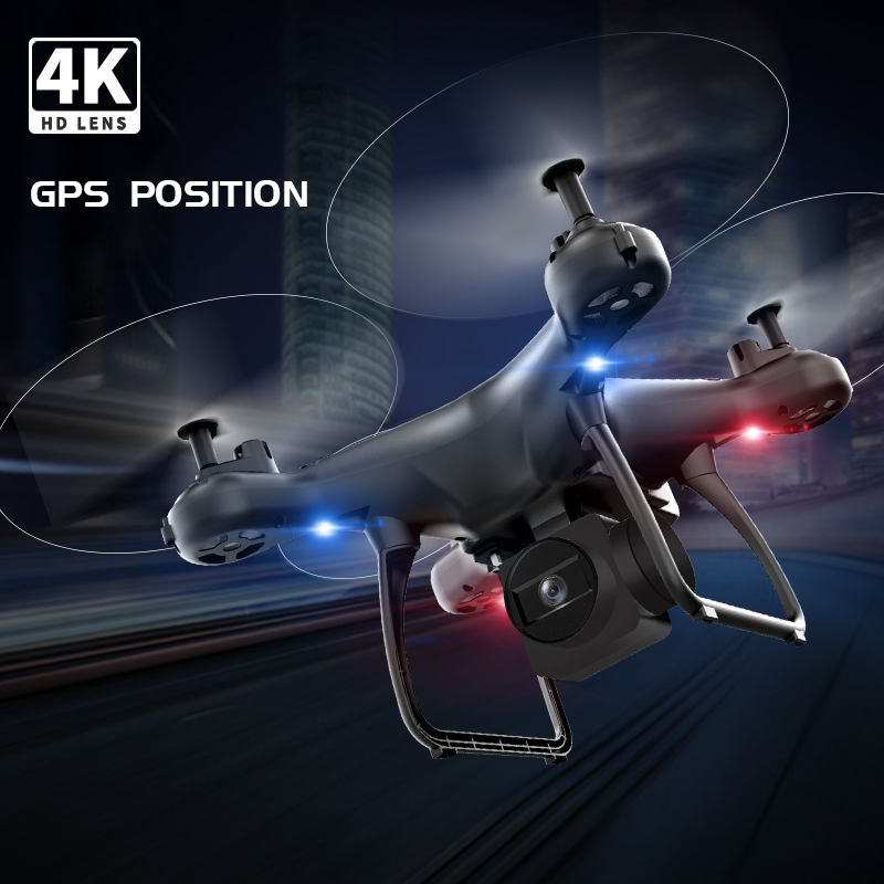 Best Drone with Dual GPS 4K / 1080P WiFi FPV 50x zoom Aerial Video Wide Angle Optical Flow Professional RC Quadcopter Helicopter