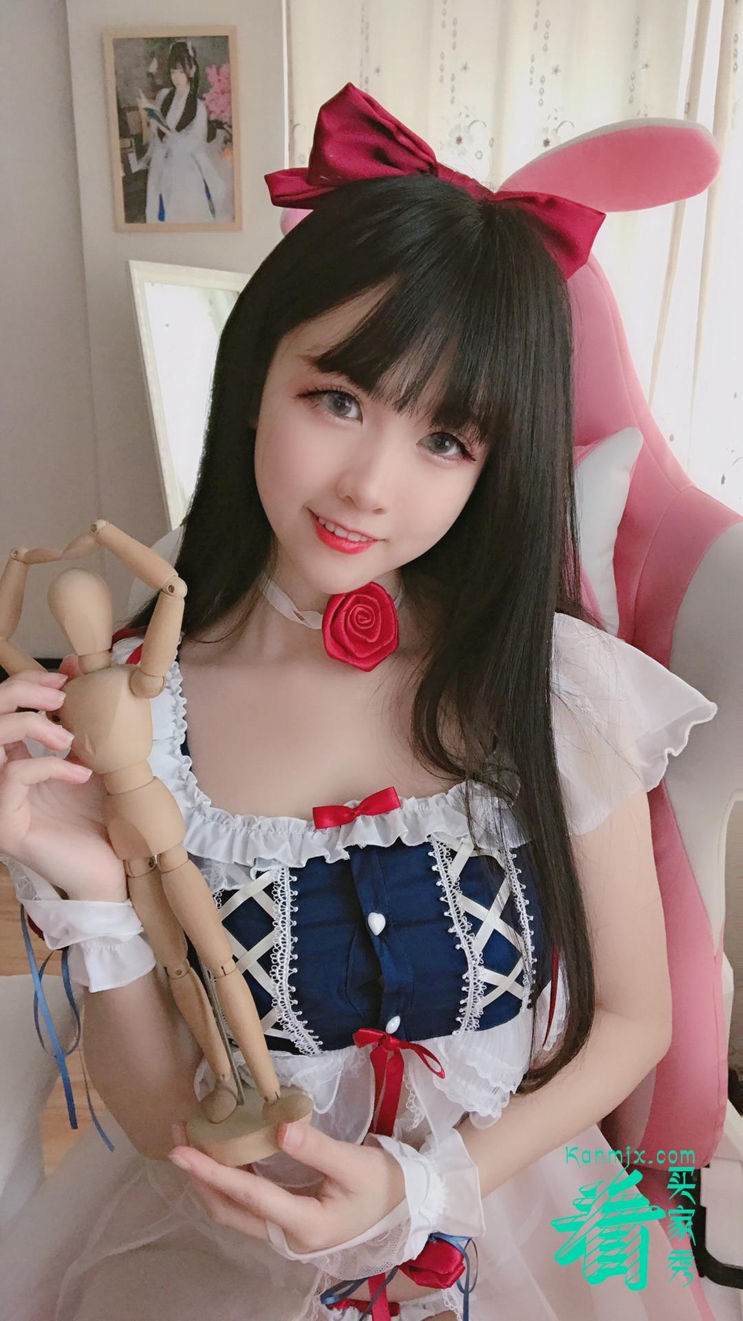 [七了个三]雪姬镂空透视装买家秀,白雪姬真是梦中情裙1