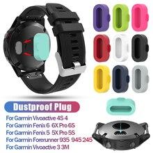 Charger Protective Plug Cover Cap Protector Case for Garmin Fenix 5/5S/5X Plus 6/6S/6X Venu Vivoactive 4S/4/3 945 935 245 S60 D2