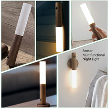 Transform Wall-Lamp Photosensitive-Sensor Stair-Wardrobe Night-Light Bedroom USB LED