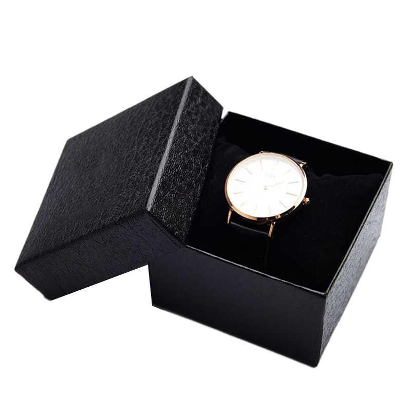 الراقية صندوق من الساعات دائم هدية الحاضر صندوق سوار الإسورة الحال بالنسبة سوار الإسورة مجوهرات الصلبة صندوق ساعة يقدم الهدايا