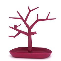 High Quality Tree Shaped Display Cases Plastic Stand Jewelry Organizer Holder For Jewelry Handmade Accessories Wholesale